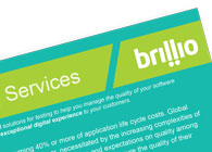 Brillio's Testing Services Fact Sheet