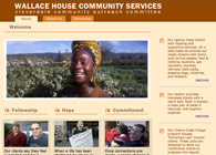 Wallace House Website