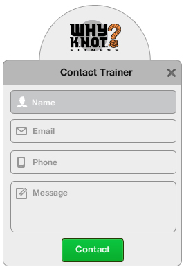 WhyKnot Contact Trainer Dialog
